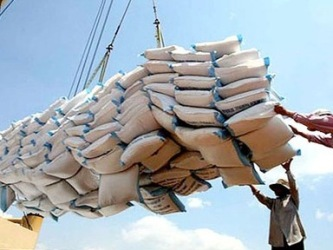 Rice prices were predicted to recover soon
